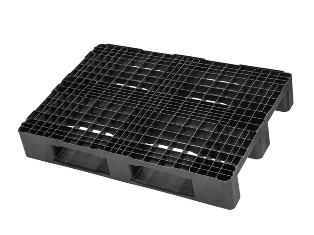 Plastpall 1200 x 800 standard perforerat däck